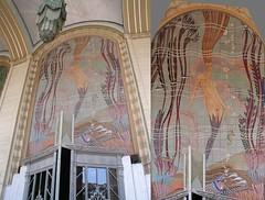 Mermaid Gynastics (- drsteve -) Tags: photoshop catalina mural manipulation mermaid avalon