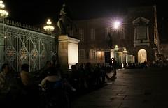 serata in piazza castello (*jos*) Tags: italy night canon torino 350d evening italia piemonte turin piazzacastello diecicento tncsalottopiazzacastello
