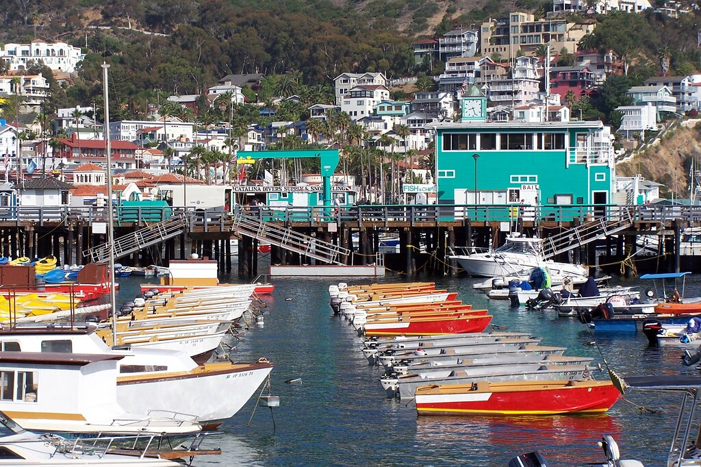 Catalina Island Avalon Harbor