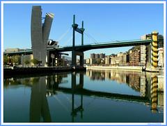 Puente de La Salve (kissss) Tags: bridge river puente bilbao lasalve ra