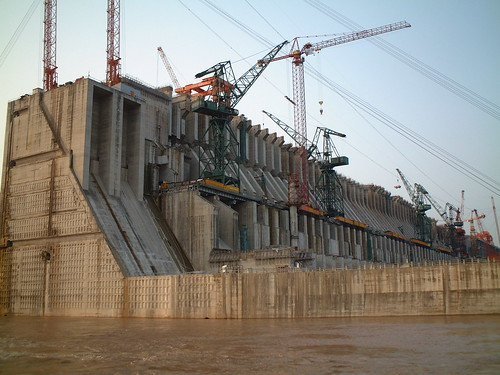 3 gorges dam construction by ..Yardley..