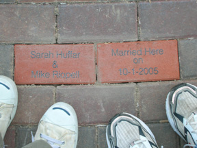 Our Bricks at Sesquicentennial Park