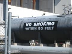 No smoking within 50 feet