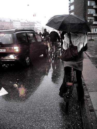 Patience - Copenhagen Bicycle Umbrella