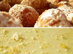 (ion-bogdan dumitrescu) Tags: wallpaper food kitchen dessert fun sweet eating cinnamon puff plate before sugar delicious eat icing after fritters diptychs confectioner bitzi ibdp findgetty ibdpro wwwibdpro ionbogdandumitrescuphotography