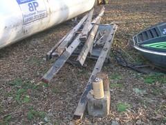 Broken Ladder (curbjumpinss) Tags: lake lights rust crystal firetruck junkyard scrapyard wreck emergency beacon siren 1949 seagrave v12 eb66