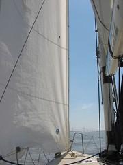 La Nave (. M a r t @ . ) Tags: bridge santafe argentina fotosencadenadas rio river puente sailing yacht nave rosario parana velas velero navegacion lanave rosariovictoria match30 mbm55