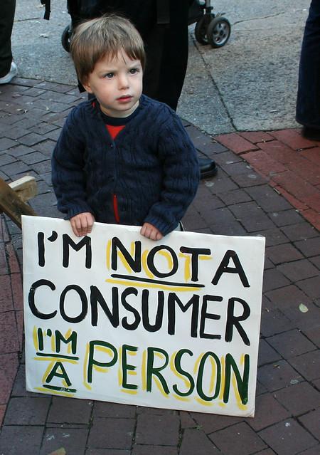 Imagen: Persona, no consumidor