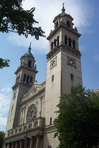 St. Adalbert's Church in Chicago's Pilsen (1874) by ChicagoGeek.