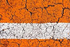 White on Orange (BrettW) Tags: orange white paint pavement d canyon crack brett wise cracks brettwise