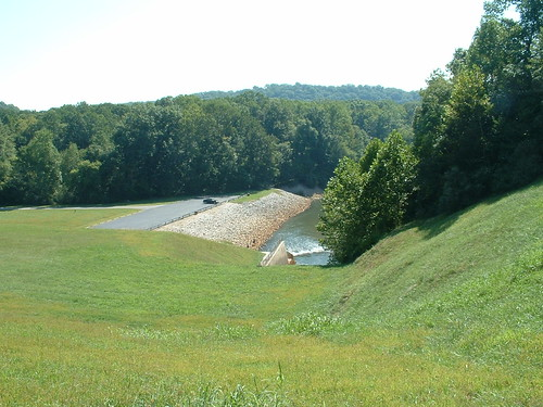 The Lake Monroe Spillway by Fulldeck.
