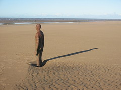 "Antony Gormley's ""Another Place"", Crosby beach, Liverpool (Torl Porl) Tags: beach marina liverpool place another antony gormley crosby bootle"