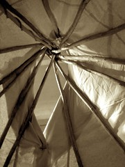 tipi (Megan Finley) Tags: tents indian tent nativeamerican teepee nativeamericans americanindian tipi conical tepee teepees tipis tepees