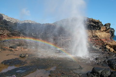 Mistifying (treyevan) Tags: favorite water hawaii rainbow hole maui blow spout