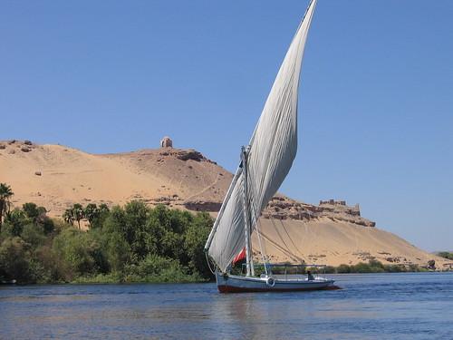 Assouan, El Nilo por José Luis Roldán.