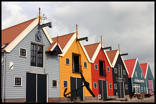 Colourful warehouses 1/3