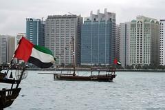National Day Race (Marwano) Tags: sea boat flag united uae emirates abudhabi arab sail scoopt