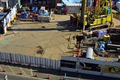 Construction (jimgris) Tags: japan hiyoshi grisanzio jimgris keiodaigaku