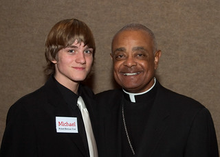 Robert and Archbishop Wilton D. Gregory