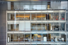 View from a Gallery (charlottehathawayfeatherstone) Tags: new york architecture buildings building window outdoor indoor