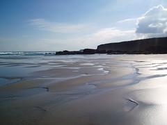 Marea Baja en Galicia (miamormiamor) Tags: morning sea mar spain playa galicia ascatedrais
