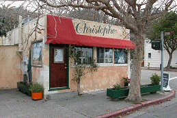 Christophe's outside