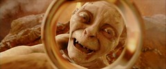gollum is happy