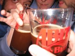 Surreptitious beverages (Min Pics) Tags: arthur amy chad redstar