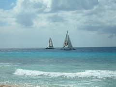 Boats out on the West Coast, Barbados