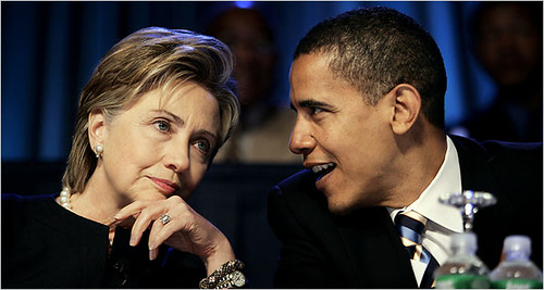 Thumb Hillary Clinton y Barack Obama se reúnen en Washington
