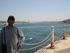 Pemandangan Bosphorus Bridge Dari Istanbul Bhg Asia