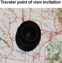 Traveler photos point of view