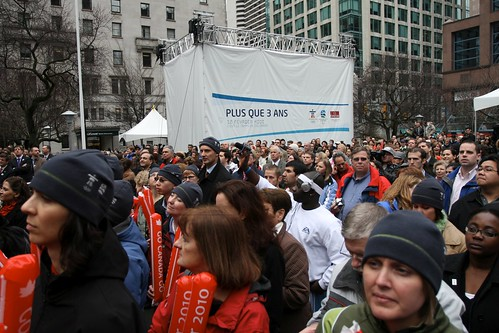 2010 Countdown Clock presentation at the VAG