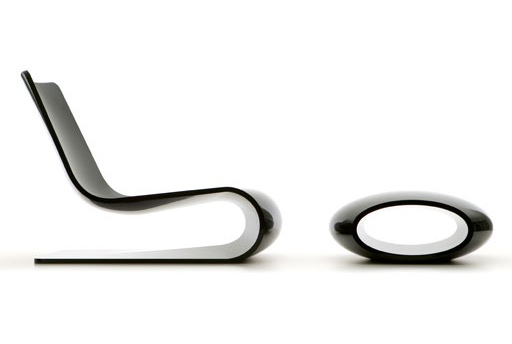 Christophe Pillet - Nouvelle vague chair