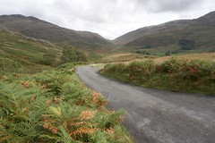 Wrynose Pass - fall colours (Luke Robinson) Tags: road uk mountains nature rural landscape nationalpark lakedistrict pass 2006 wrynosepass leevisit2006 mortalcoilfrontpage