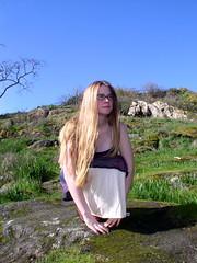 Sarah, 2004. (SunSirrah) Tags: 2004 sarah longhair blonde esquimalt