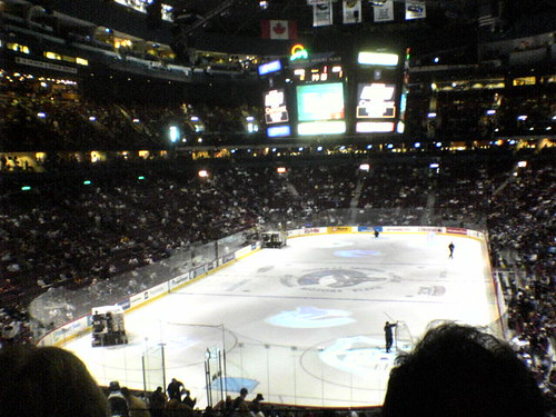 Canucks vs Anaheim!
