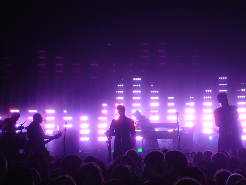 Massive Attack live in Toronto, Oct. 6, 2006.