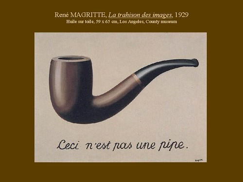 R. Magritte-This isn't a Pipe