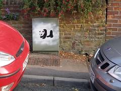 Panda Box (tob83) Tags: streetart graffiti stencil panda oxford