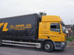 Booklet delivery (janet7r) Tags: yellow transport lorry delivery booklets