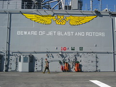 Words to Live By (Telstar Logistics) Tags: sanfrancisco marines usnavy fleetweek lhd6 fleetweek2006 ussbonhommerichard