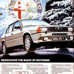 Alfa Romeo 33 Advert
