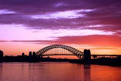 Sydney Harbour Bridge , Sunrise 03 (aos_artofseeing) Tags: bridge icons harbour sydney australian bridges