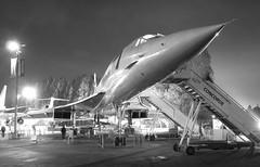 Concorde (AndrewRBrown) Tags: seattle museum plane airplane blackwhite aircraft flight aeroplane concorde britishairways supersonic