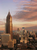 Atlanta at dawn