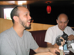 BobbleTwins_08 (Slick Vic) Tags: birthday twins bobbleheads