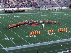 Princeton Band Flasher Routine (Joe Shlabotnik) Tags: football band 2006 princeton princetonstadium princetonuniversity princetonband october2006