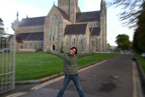 Jess Gets Excited about a Cathedral