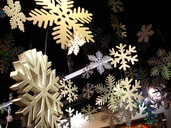 Christmas decorations in shop (net_efekt) Tags: christmas xmas schnee winter decorations snow shop weihnachten festive stars snowflakes star pretty decoration flake noel hanging nol stary flakes noelle decor stern nel schneeflocken festlich etoil